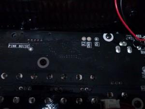 PCB Solder Points Closeup